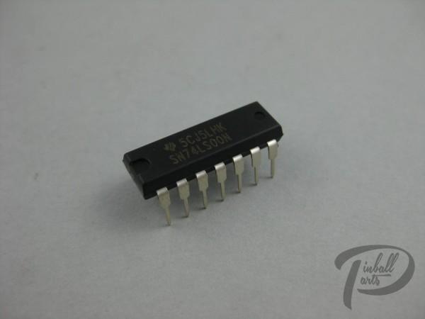 IC 14 pin dip quad 2 input nand