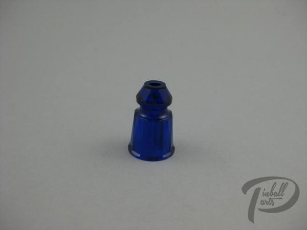 Starpost blau faceted 1 Zoll