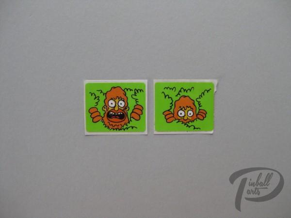 Aufkleber 2er Set The Simpsons 820-511X-SD