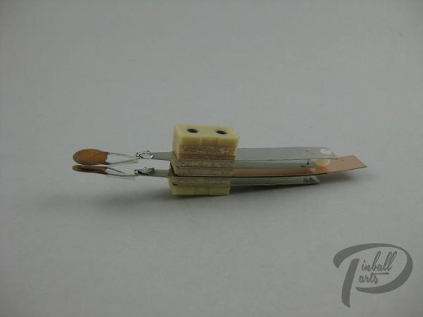 Flipperknopf Kontakt
