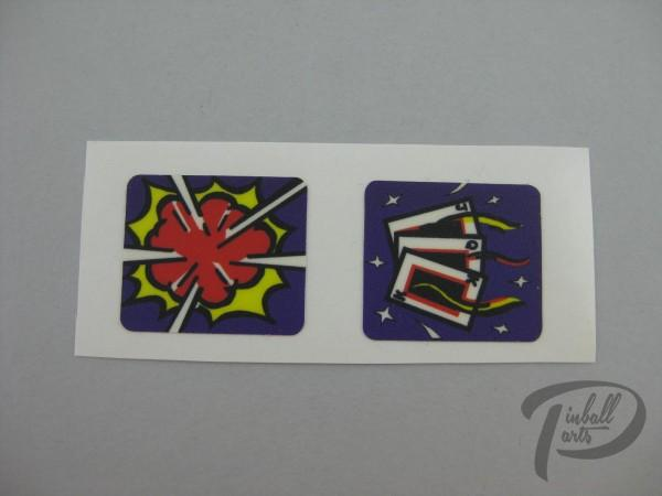 Spinner Decal Theatre of Magic 2er Set