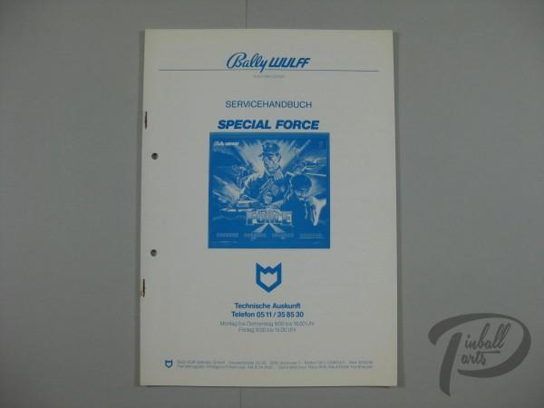 Deutsches Servicehandbuch Special Force