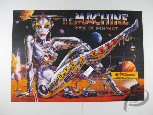 Translite The Machine Bride of Pinbot
