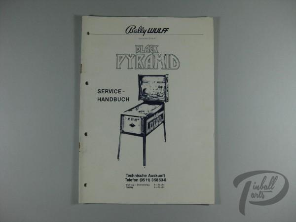 Deutsches Servicehandbuch Black Pyramid