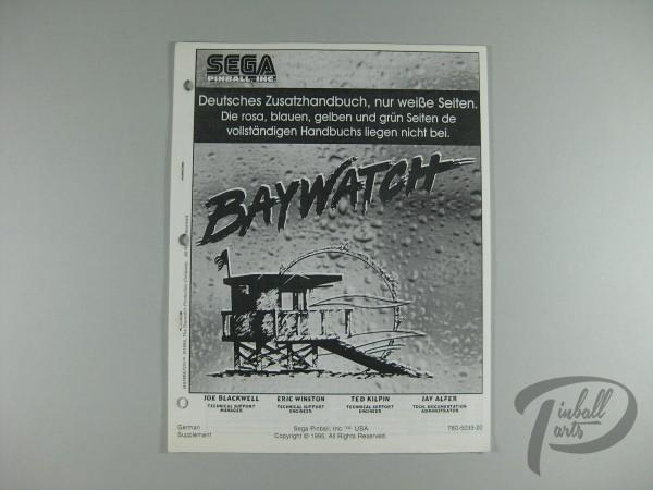 Deutsches Zusatzhandbuch Baywatch