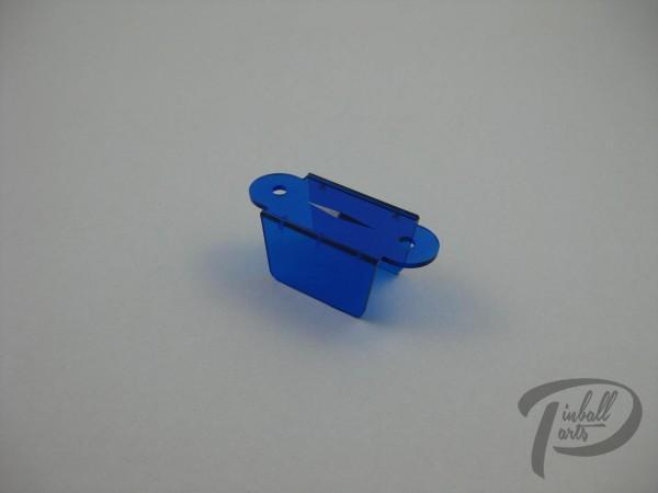 Kugeldurchlauf blau transparent