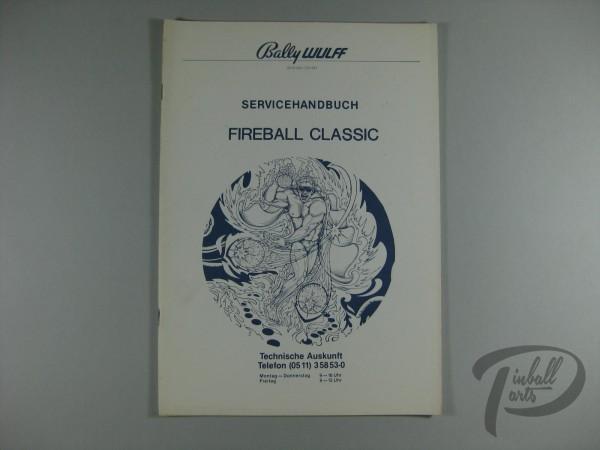 Deutsches Servicehandbuch Fireball Classic