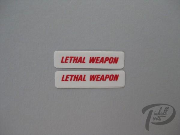 Aufkleber 2er Set Lethal Weapon 820-5081-00