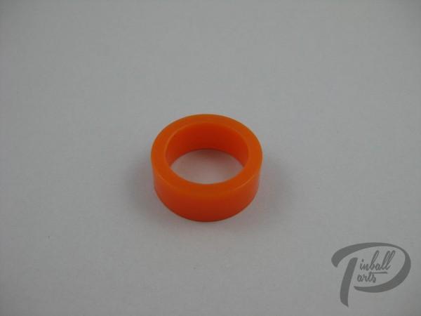 Silikon Flipper Gummi klein orange