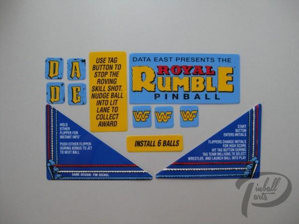 Aufkleber 12er Set Royal Rumble 820-6098-XX